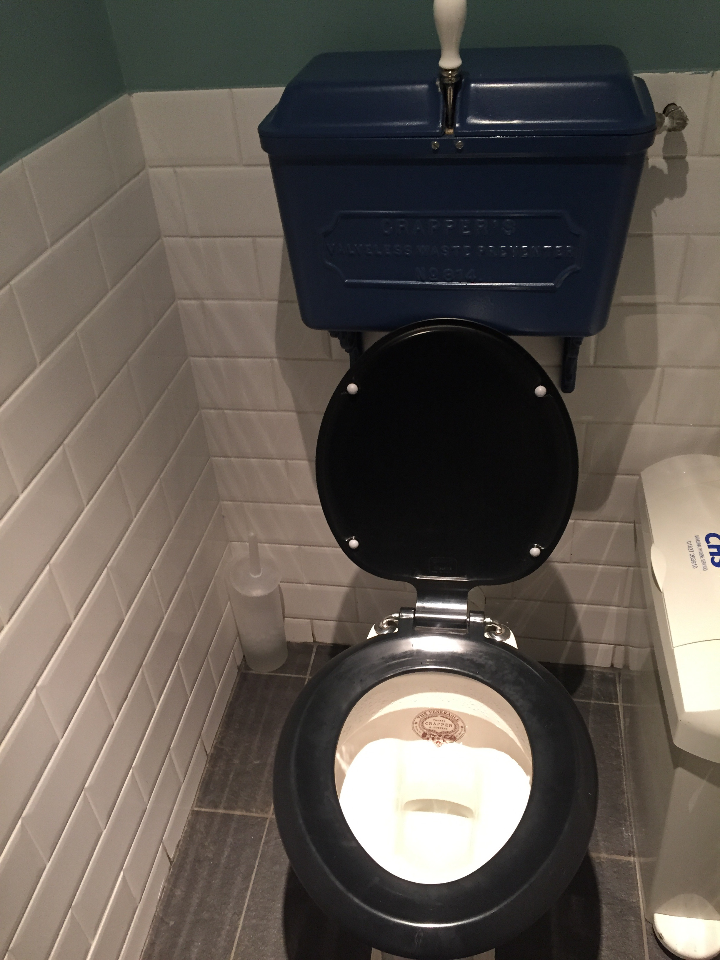 For the Love of Toilets – The Venerable Crapper | The Farmeress in ...